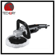 180mm Electric Rotary Car Polisher with 100% pure wool bonnet High Quality Polisher