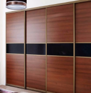 Best Selling wooden large wardrobe OEM service mdf wooden bedroom newly design wardrobe