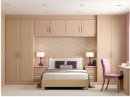 New Arrived Quick Lead Simple Design built in wardrobes with sliding door