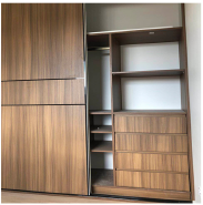 High quality modern bedroom furniture modular laminate wardrobes designs