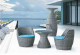 Rattan Table & Chair