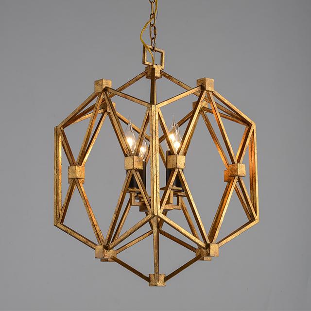Contemporary iron art pendant lamp