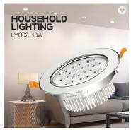 Led Downlights Lux Mini Smart Slim Lights Surface Mount Fixture Down Light