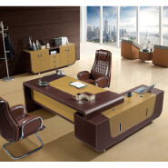 modern style luxury office furniture from China F63 hot sale leather table