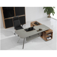 modern expandable computer executive office desk W27 stainless steel small or large computer desk