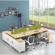 modular office furniture workstation office partition 718-P02 one to four seats modern work station