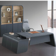Top-rated Luxury leather office furniture desk hyderabad market F32 from Shunde Lecong office furnit