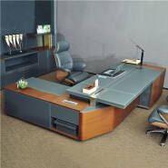 top-rated modern executive desk luxury office furniture W68 CEO boss table desk foshan office furnit