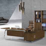 top-rated modern executive desk luxury office furniture 601-T03 CEO boss table desk foshan office fu