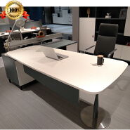 guangzhou foshan modern executive office desk modern presidential office furniture desk from China l