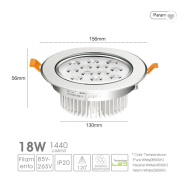 China Manufacture Recessed Led Down Light