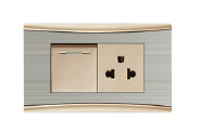 Electric Wall 220V Electrical Multi Standard Switch Socket
