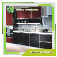best selling products vinyl wrapped new model kitchen cabinet doors