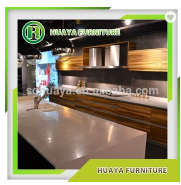 factory price new model teak wood kitchen cabinet