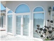 New Arrival Luxury Quality Best Design UPVC glass door Customizede