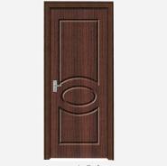 Hot Sales High Standard Professional Design Yekalon MDF Door Modern Flush Design Interior Door Living Room Door Bedroom Door (PVD-117)