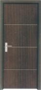 Hot Product Highest Quality Simple Style Yekalon MDF Door Modern Flush Design Interior Door Living Room Door Bedroom Door (PVD-197)