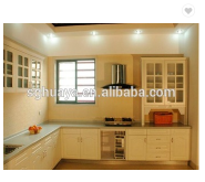 kitchen cabinet & material facotry (high gloss uv mdf & acrylic mdf)/Commercial Stainless Steel Kitc