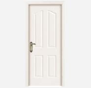 Newest Products Quick Lead Customize Yekalon MDF Door Modern Flush Design Interior Door Living Room Door Bedroom Door (PVD-135)
