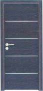 Top Selling Nice Quality Stylish Design Yekalon MDF Door Modern Flush Design Interior Door Living Room Door Bedroom Door (PVD-193)