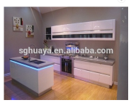 New arriving design full set kitchen cabinet/kitchen cabinet & material facotry (high gloss uv mdf &