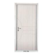 Hot New Products Highest Quality Custom-Made Yekalon MDF Door Modern Flush Design Interior Door Living Room Door Bedroom Door (PVD-186)