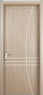 Best Factory Direct Sales Highest Level Personalized WPC door Flush series with groove design (WPD-046)