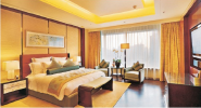 Bargain Sale Top Quality Fashion Designs Solid wood frame hotel furniture single bed CH-018