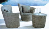New Product Highest Level Fancy Design Outdoor negotiation table and chair YKL-H-S-34