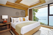 New Product Highest Level Fancy Design Wood veneer hotel bed CH-048
