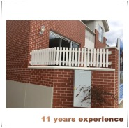 Pastoral Beautiful Wooden Stair Railing Competitive Price