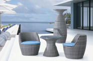 Hot Sales High Standard Professional Design Outdoor negotiation table and chair YKL-H-N-2