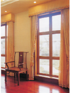 Best Seller Elegant Top Quality Personalized Design alu-wood windows AW-003