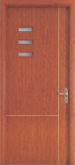 The Most Popular Export Quality OEM Design WPC door Glass Series (WPD-042)