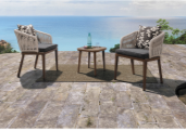 Best Seller Elegant Top Quality Personalized Design Outdoor negotiation table and chair YKL-H-N-19