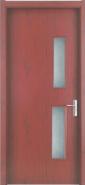 Advertising Promotion Super Quality Unique Design WPC door Glass Series (WPD-041)