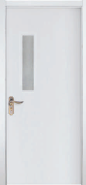 Factory Supply Excellent Quality Customizable WPC door Glass Series (WPD-039)