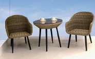 Sales Promotion High Quality Original Design Outdoor negotiation table and chair YKL-H-N-4
