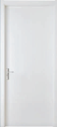 Best Choice Exceptional Quality Popular Design WPC door Flush series with groove design (WPD-001)