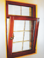 Hot Sales High Standard Professional Design alu-wood windows AW-006