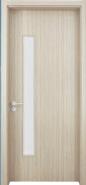 New Arrival Luxury Quality Best Design WPC door Glass Series (WPD-040)