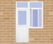 Hot Sell Hot Quality Fashionable Design UPVC door window U-DWC001