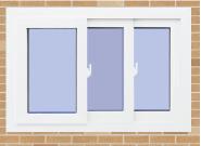 On Sale Premium Quality Good Design upvc window rails sliding U-A001B
