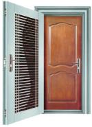 Stainle ss Steel Connecting Door--One Frame Two Doors SSD-012