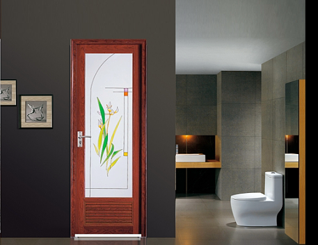 Promotions Top Grade Fashion Design Bathroom Plastic Door wk001