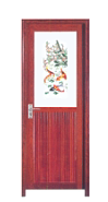 On Sale Premium Quality Good Design New Shape Plastic Door For Bathroom WK002