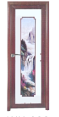 Best-Selling Best Quality Comfortable Design Windows Usage Plastic Door With High Quality TW006