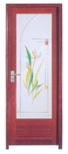 Hot Selling Good Quality Classic Design Strong Plastic Door TW008