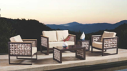 Best Seller Elegant Top Quality Personalized Design Outdoor Sofa YKL-H-S-37
