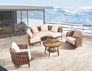 Opening Sale Samples Are Available Special Design Outdoor Sofa YKL-H-S-34